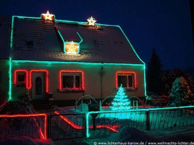 Weihnachtshaus Karow