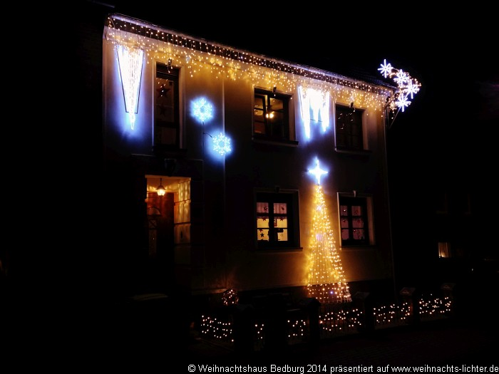 Weihnachtshaus Bedburg-Pütz