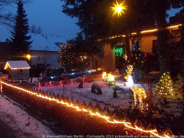 Weihnachtshaus Berlin – Fam. Domagalla