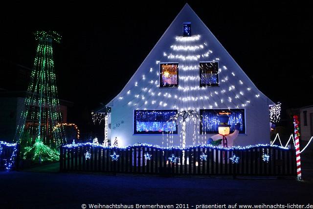 Weihnachtshaus Bremerhafen