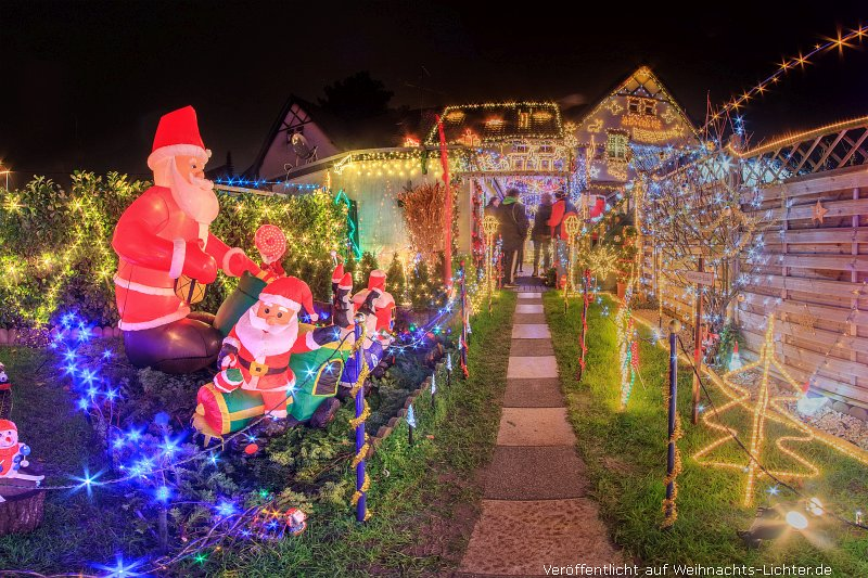 Weihnachtshaus Moers