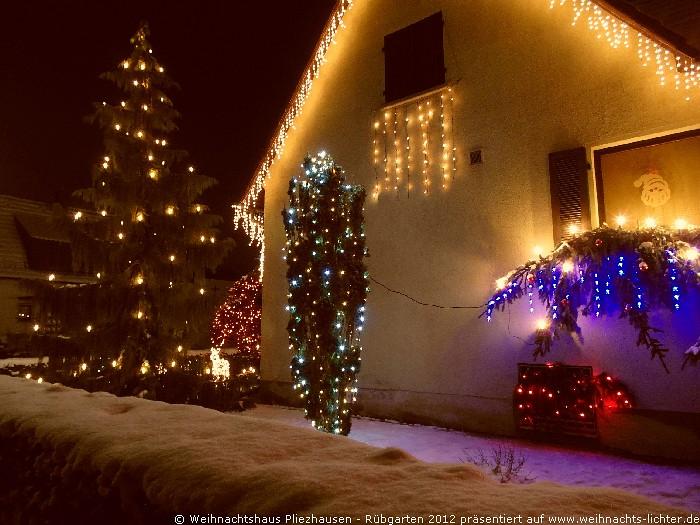 Weihnachtshaus Pliezhausen
