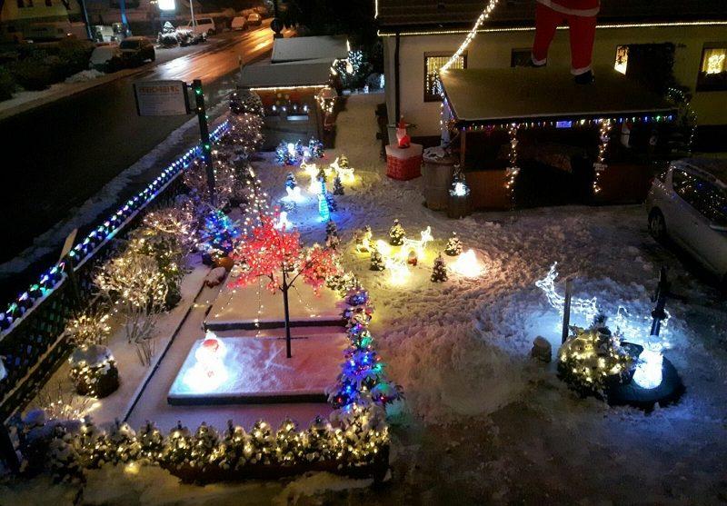 Weihnachtshaus Eltersdorf – im vollen Glanz