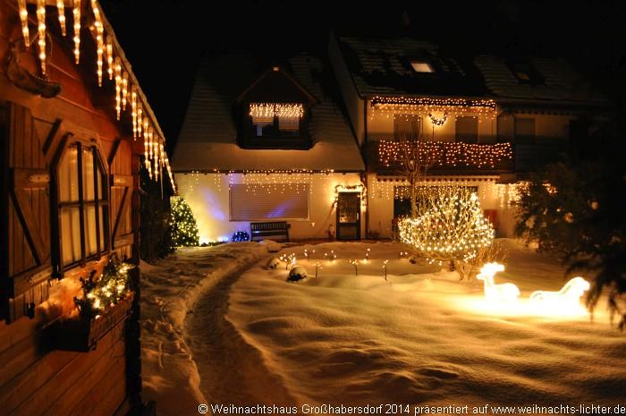 Weihnachtshaus Großhabersdorf – Im vollen Glanz