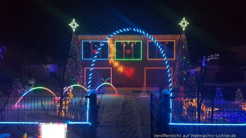 Weihnachtshaus Hohenlinden